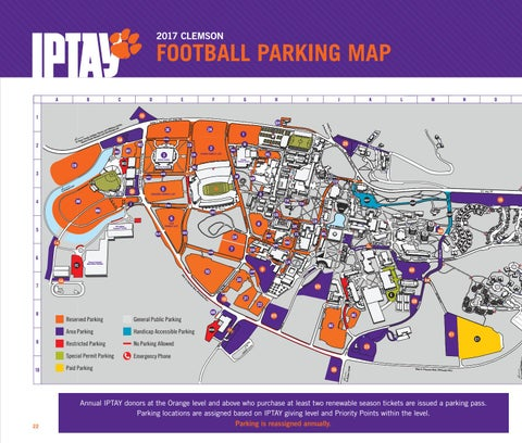 IPTAY 2018 Membership Guide by Clemson Tigers - issuu on
