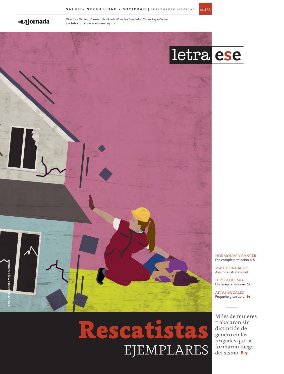 Letraese 255 Octubre De 2017 By Letra S Suplemento Issuu