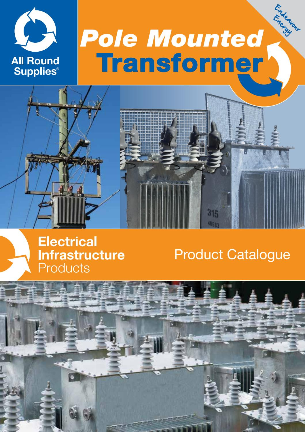 All Round Supplies Pole Mounted Transformers Endeavour By Overhead Transformer Wiring Diagram Issuu