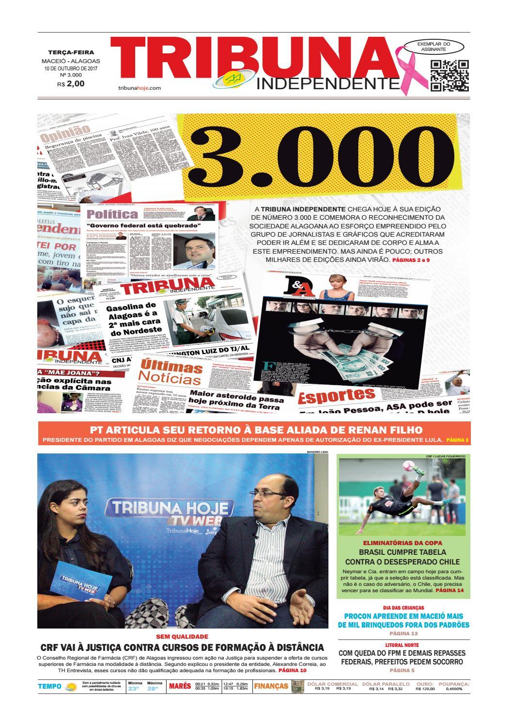 c8712400a4315 Edição número 3000 - 10 de outubro de 2017 by Tribuna Hoje - issuu