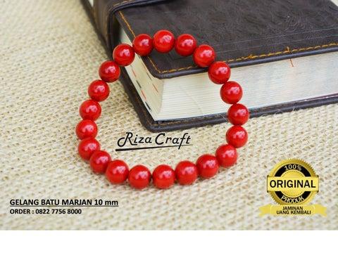 Gelang Batu Marjan Red Coral, 082277568000