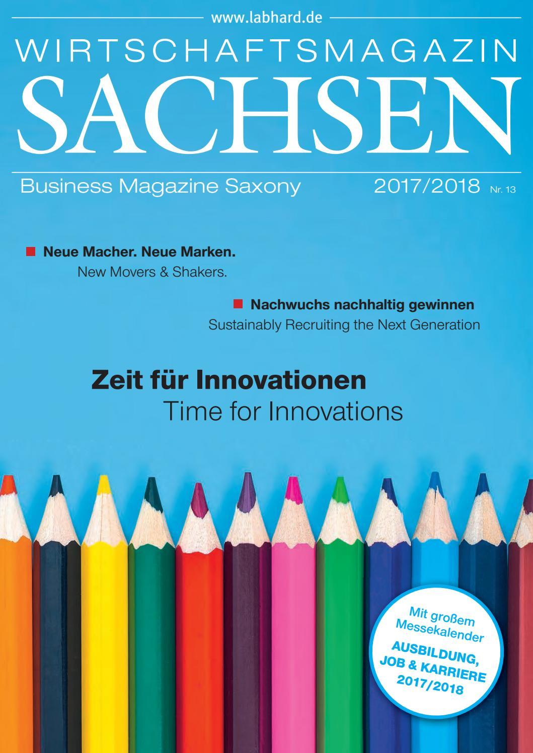 Das Wirtschaftsmagazin Sachsen 2017 2018 By Marketing Gesellschaft Oberlausitz Niederschlesien Mbh Issuu