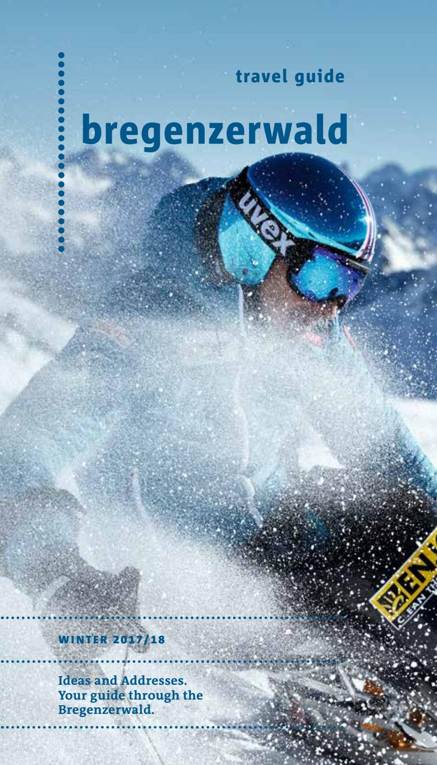 aaae90eb8861 Travel guide Bregenzerwald - Winter 2017-18 by Bregenzerwald Tourismus GmbH  - issuu