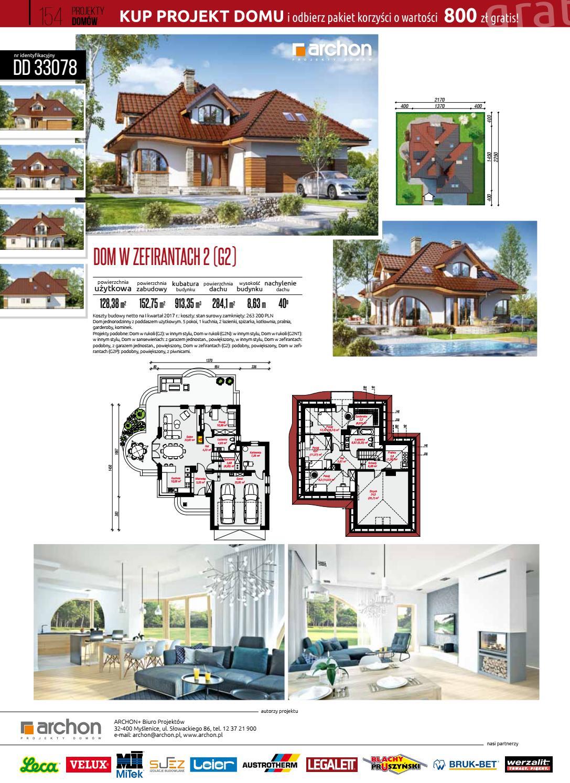Projekty Domów 33 Cz 2 By Dobry Dom Issuu