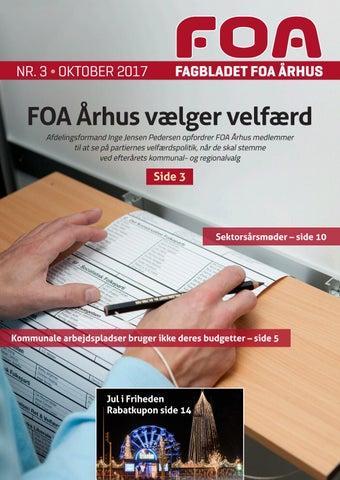 31549a5f Fagbladet FOA Århus Oktober 2017 by FOA Århus - issuu