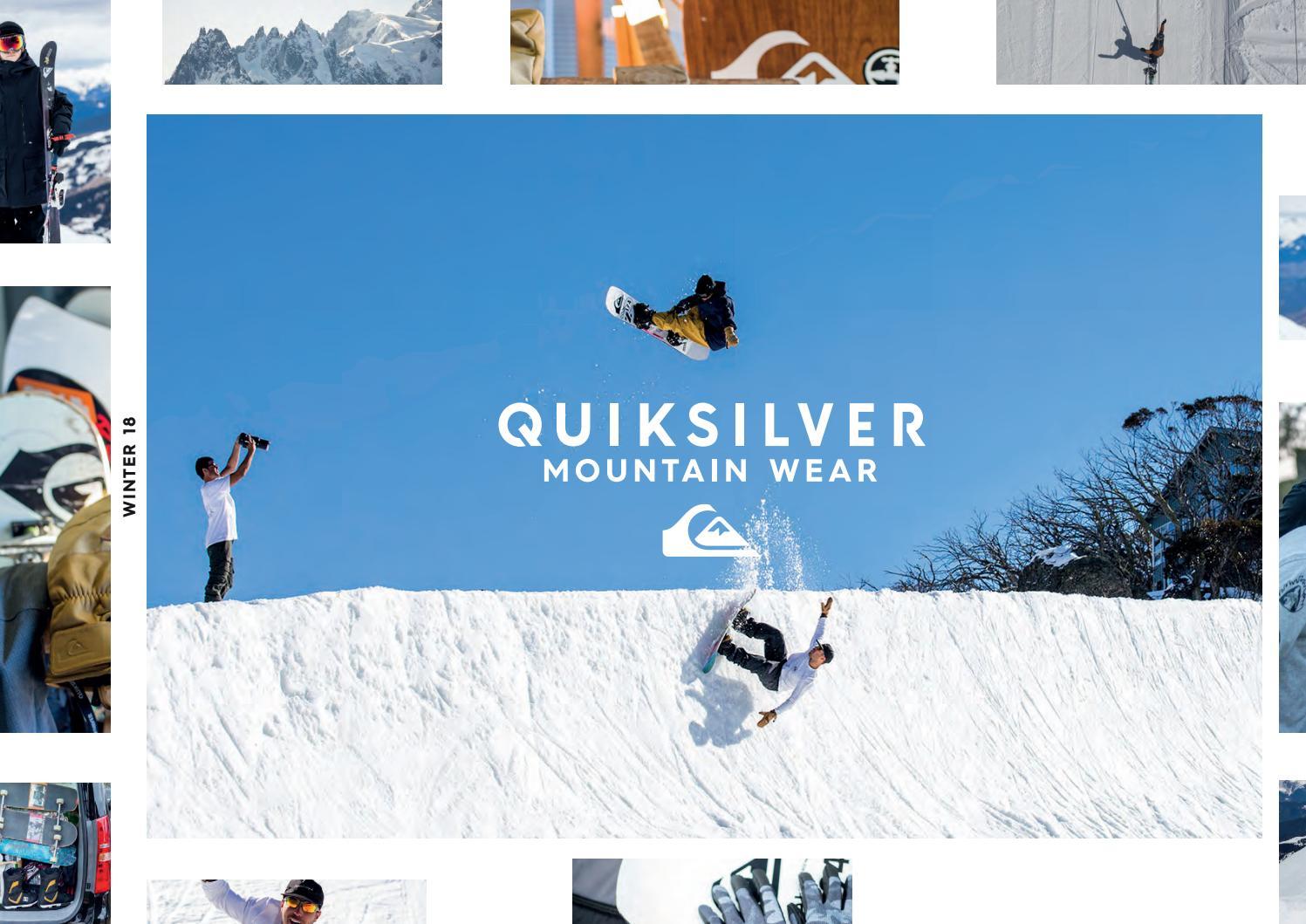 a52bf1b1d Quiksilver Mountain Wear winter 2018 Catalog by snowsport snowsport ...