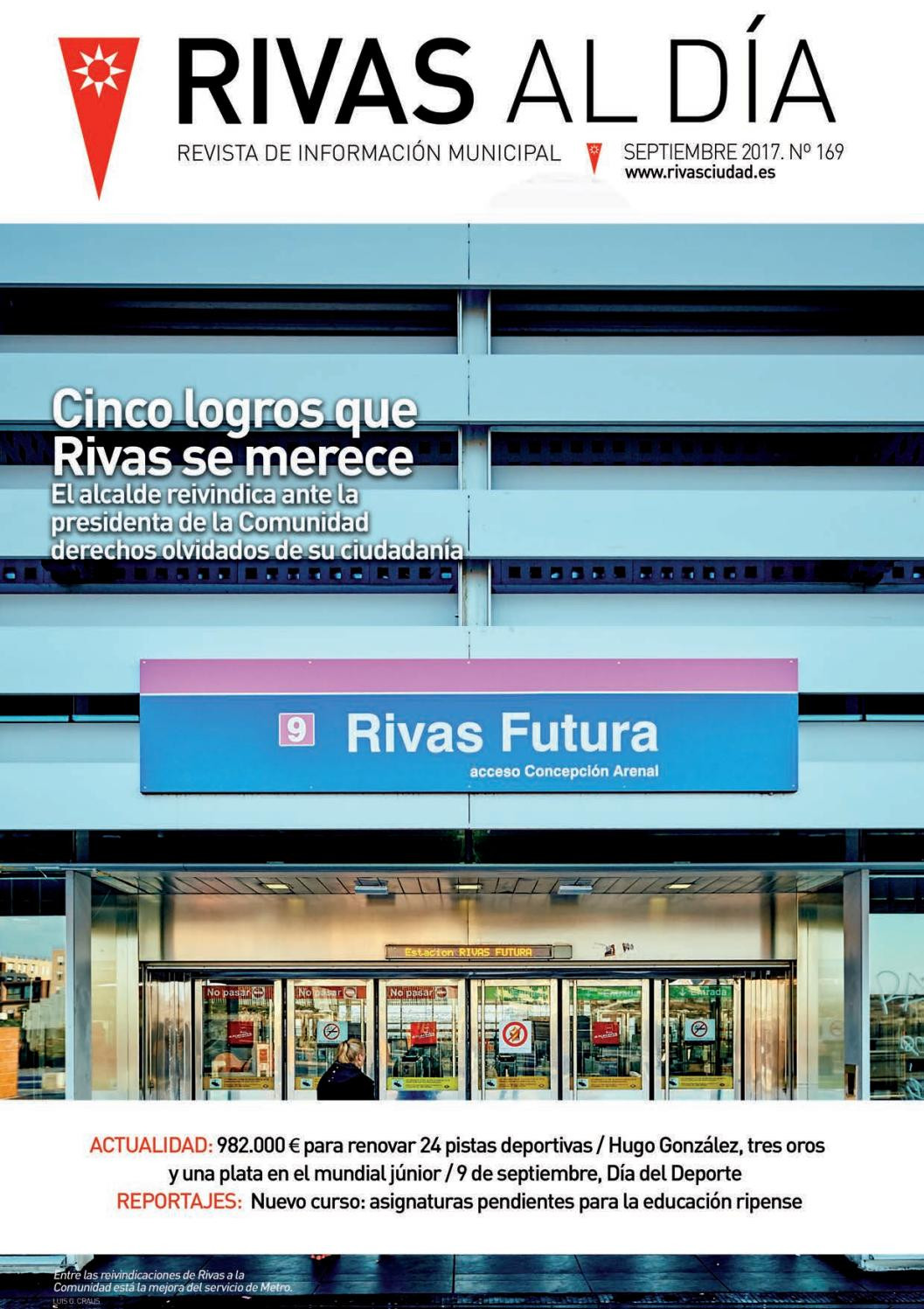 Rivas al día   Rivas cultural Nº. 169 septiembre 2017 by Rivas al día    Rivas cultural - issuu 9941588241a