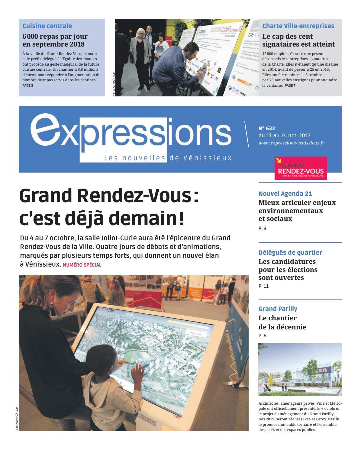 Expressions 632 by expressions issuu - Cuisine centrale venissieux ...