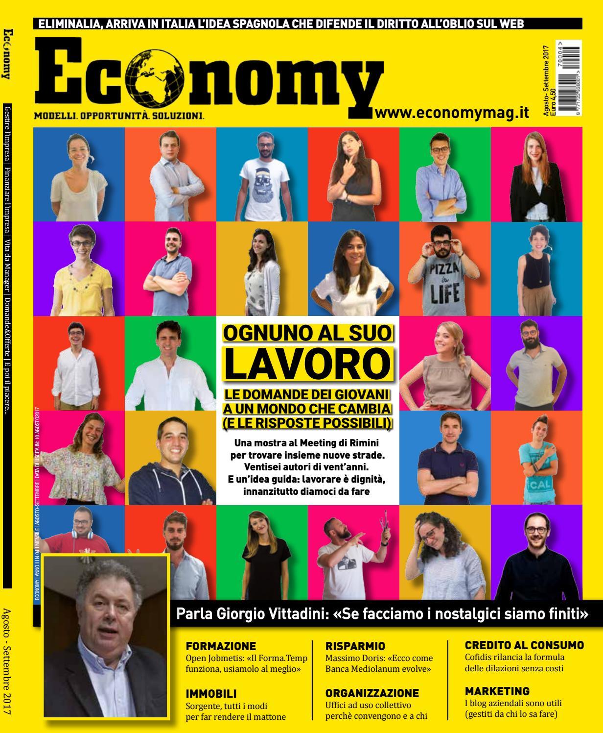 Economy4 agosto settembre 2017 by Economy - issuu e85563d6746
