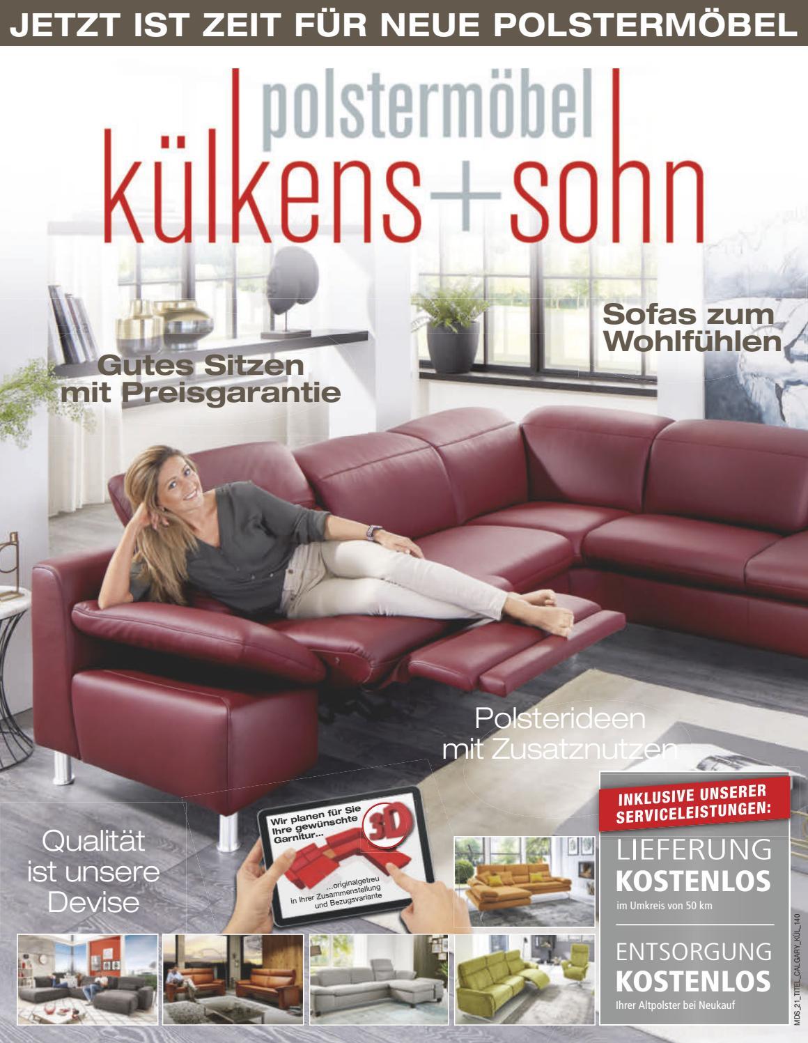 kuelkens+sohn Prospekt Polster 10-2017 by Perspektive Werbeagentur ...