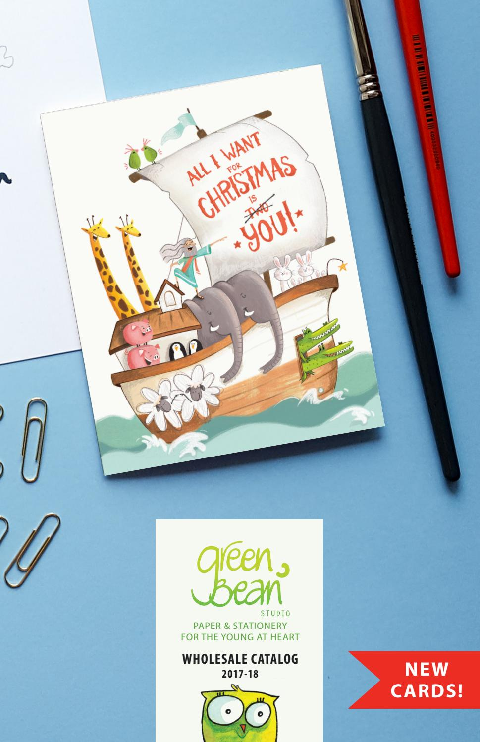 Green bean studio wholesale catalog winter update by Green Bean ...
