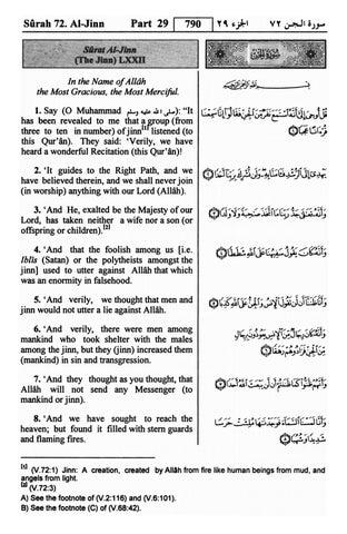[PDF] Quran English translation Surah 72 ﴾الجن﴿ Al-Jinn with Arabic text
