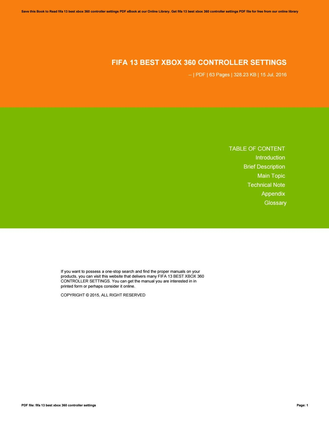 Bestseller  Xbox 360 Controller Manual Pdf