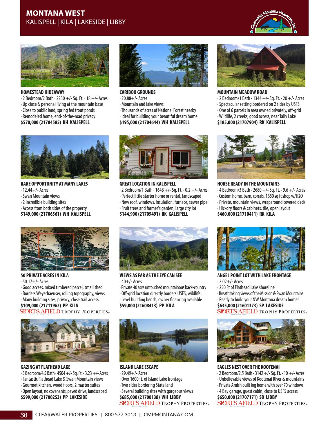 Clearwater Properties Real Estate Magazine 2018 Vol I by
