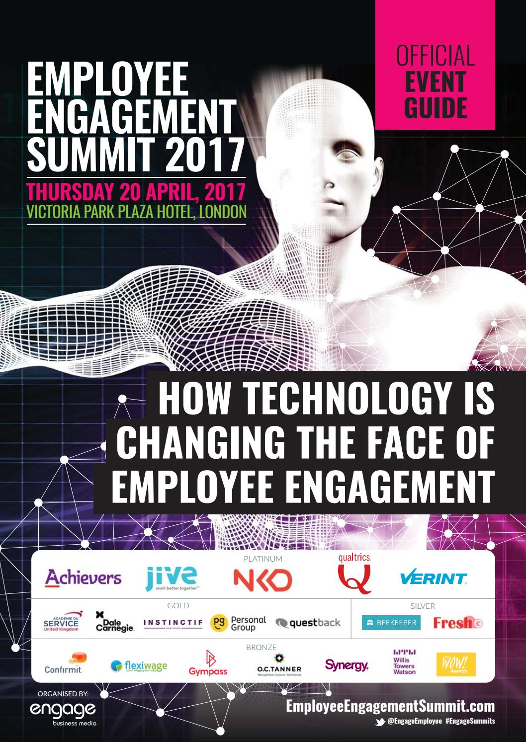 2017 Employee Engagement Summit Guide by Engage Business Media - issuu