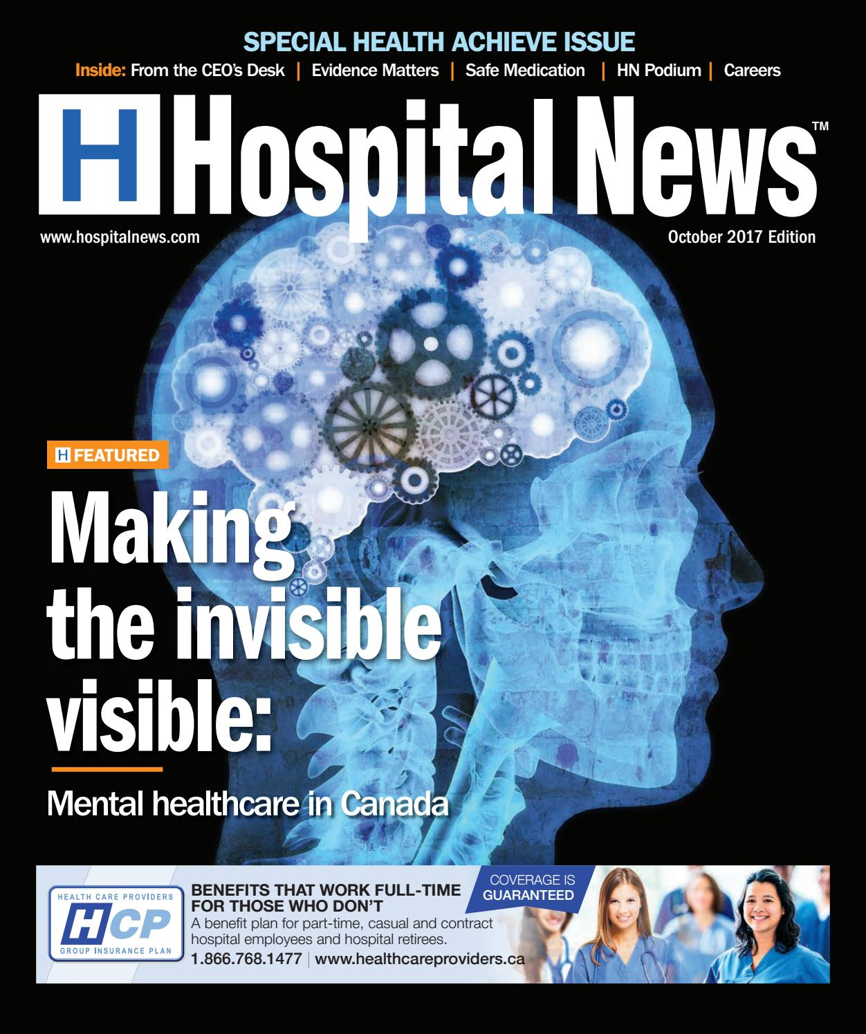 Hospital News 2017 October Edition By Hospital News Issuu