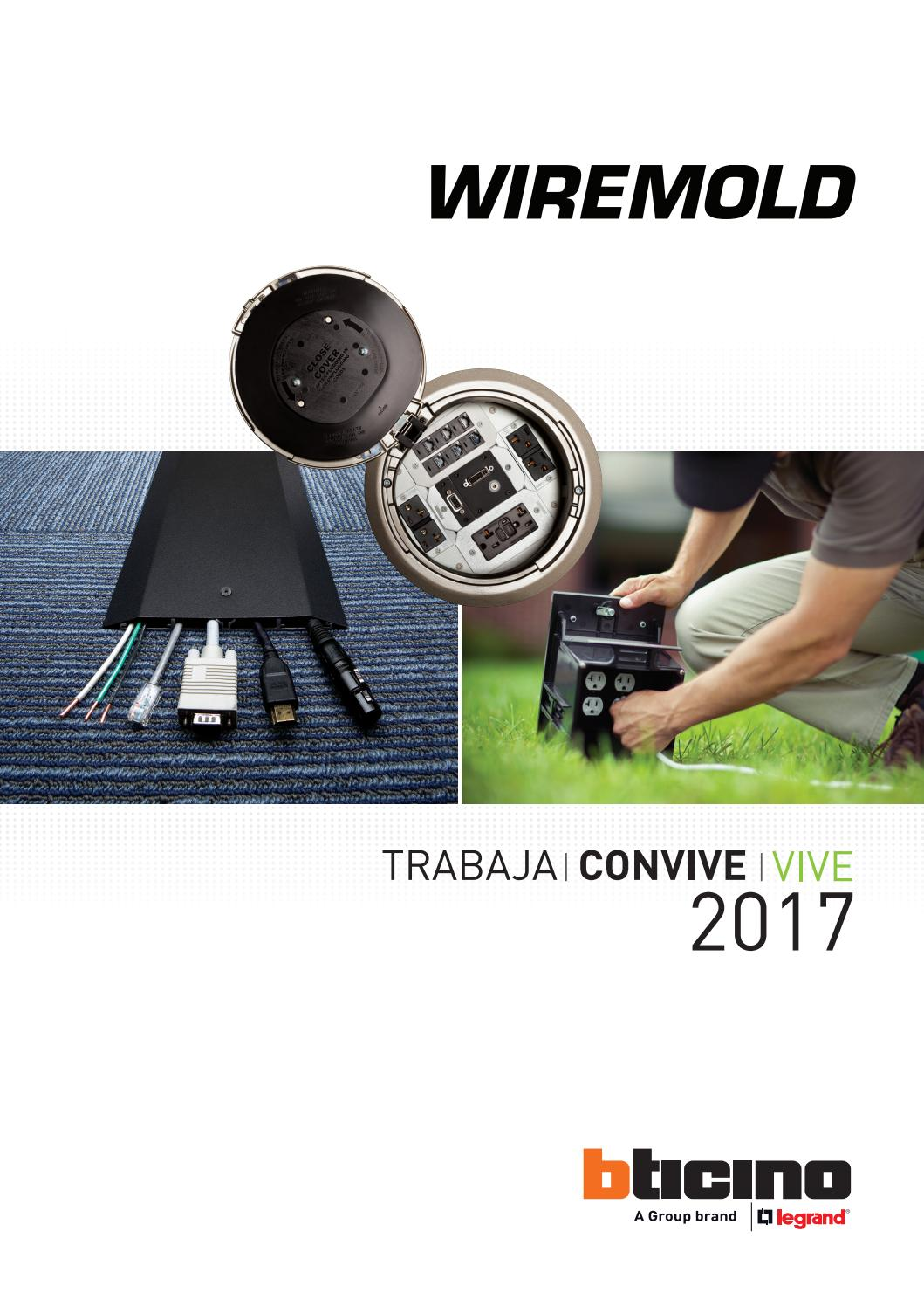Brochure Wiremold 2017 by Bticino - issuu