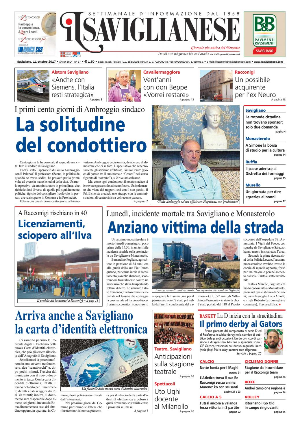 11 10 2017 by Valerio Maccagno - issuu 1608a8056229