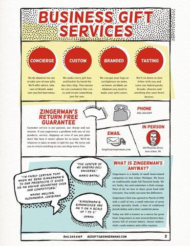 business gift services Concierge