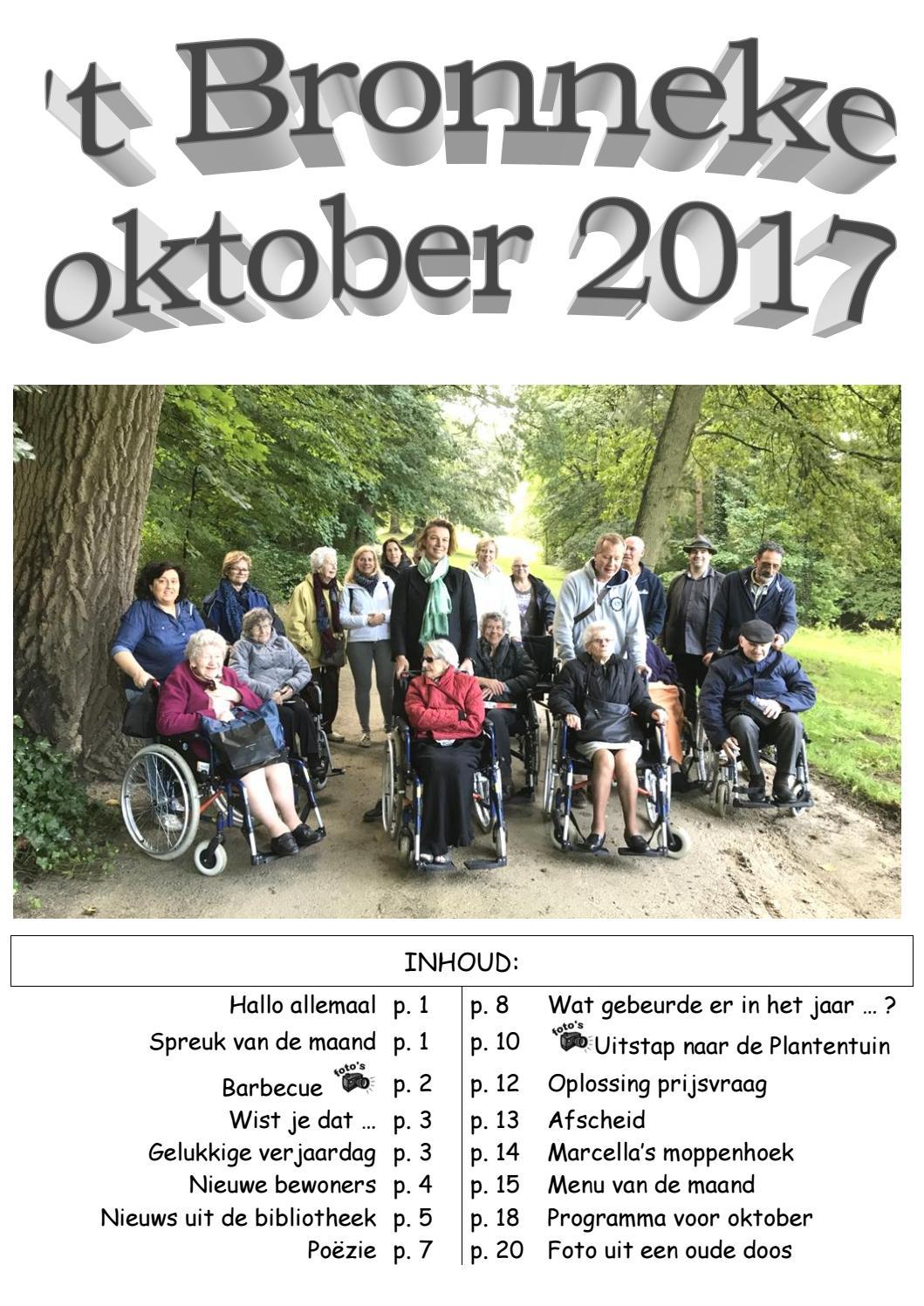 Bronneke Oktober 2017 By De Overbron Issuu