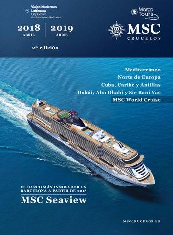 Catalogo 2018 - 2019 Crucero MSC by Margo y Viajes Panamá - issuu 5d927eb222