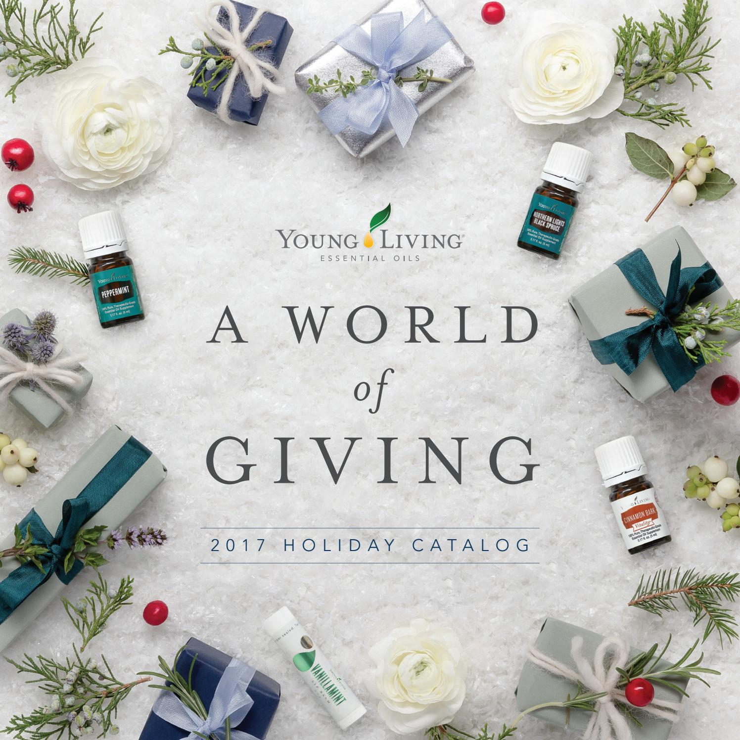 2017 Holiday Catalog By Young Living Essential Oils Issuu