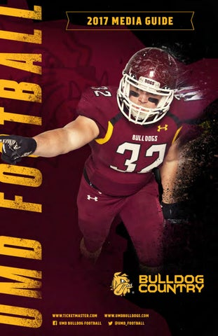 77d66e3818a 2017 UMD Football Media Guide by UMD Bulldogs - issuu