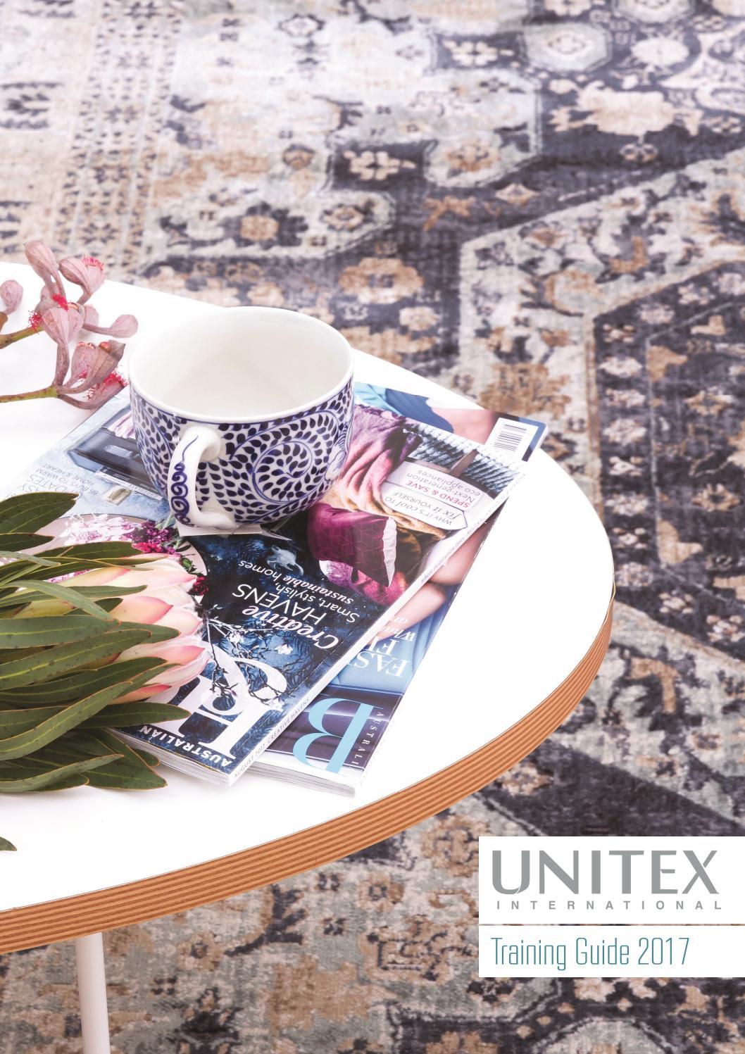 Unitex Rug Guide 2017 By