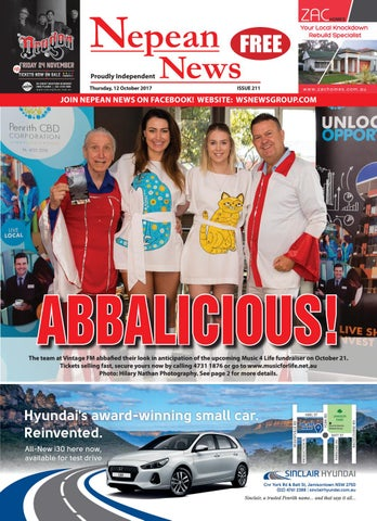 Nepeannews 12october2017 By Nepean News Issuu