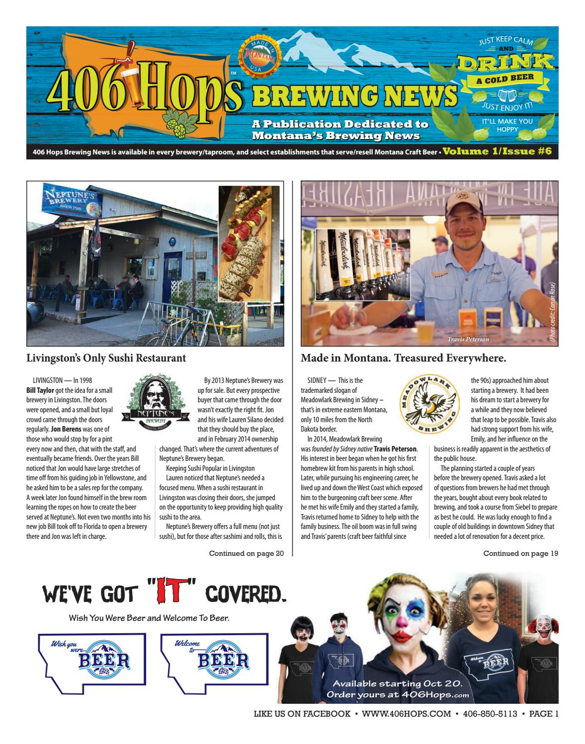 406 hops brewing news issue 6 by 406 hops brewing news issuu