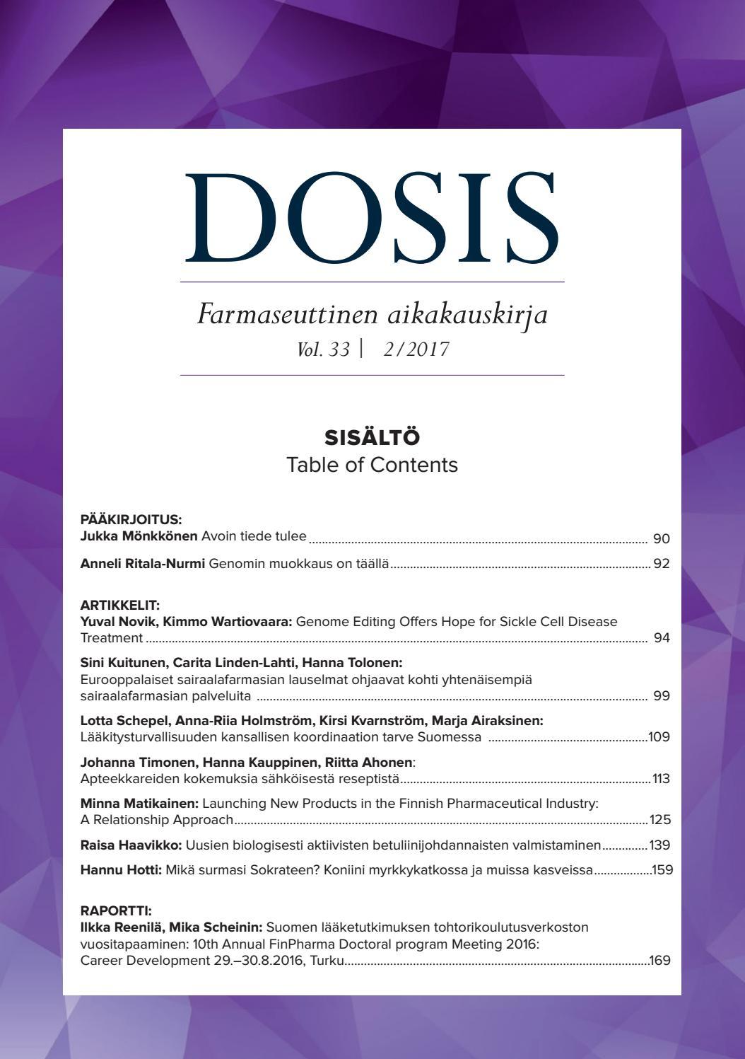 Dosis 2 2017 by Otavamedia OMA - issuu 4288e75c94