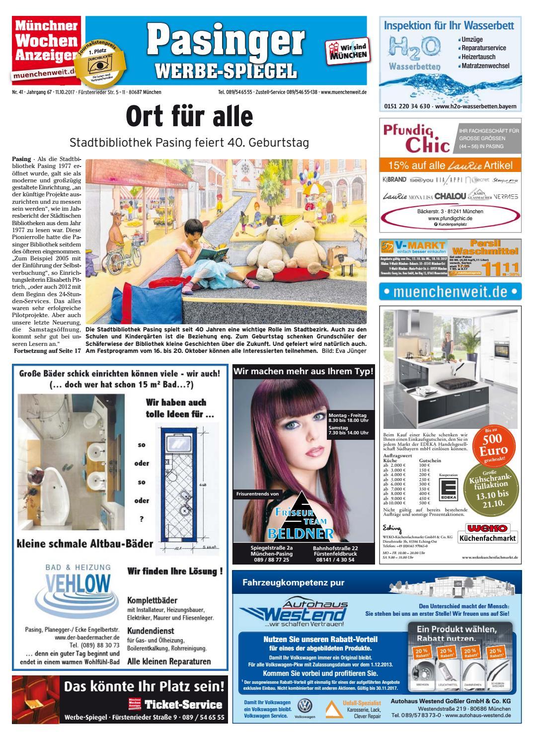 632dbbc296c959 KW 41-2017 by Wochenanzeiger Medien GmbH - issuu