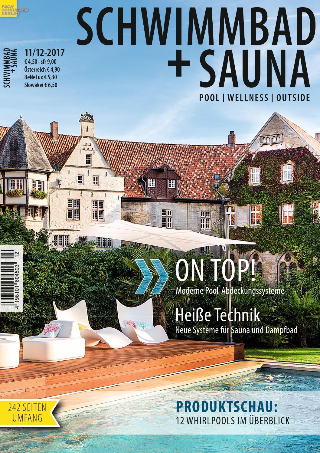 Schwimmbad+Sauna 11-12/2017 by Fachschriften Verlag - issuu