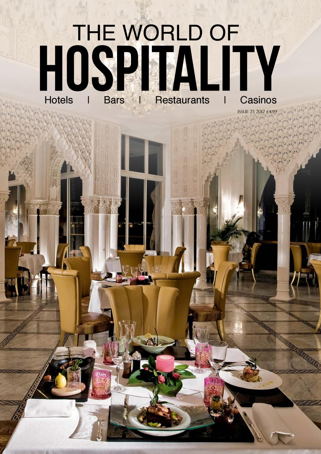 The World of Hospitality - Issue 23 2017 by The World Of