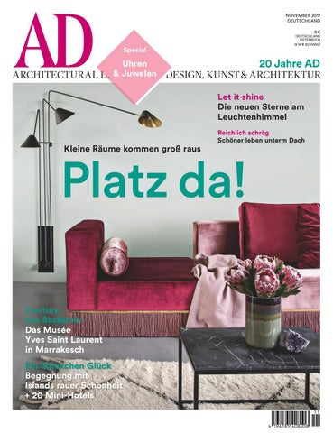 AD 11/2017 By AD Architectural Digest   Issuu