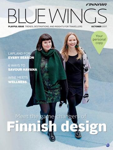 3739c003870 Blue Wings Playful issue October 2017 by Finnair BlueWings - issuu