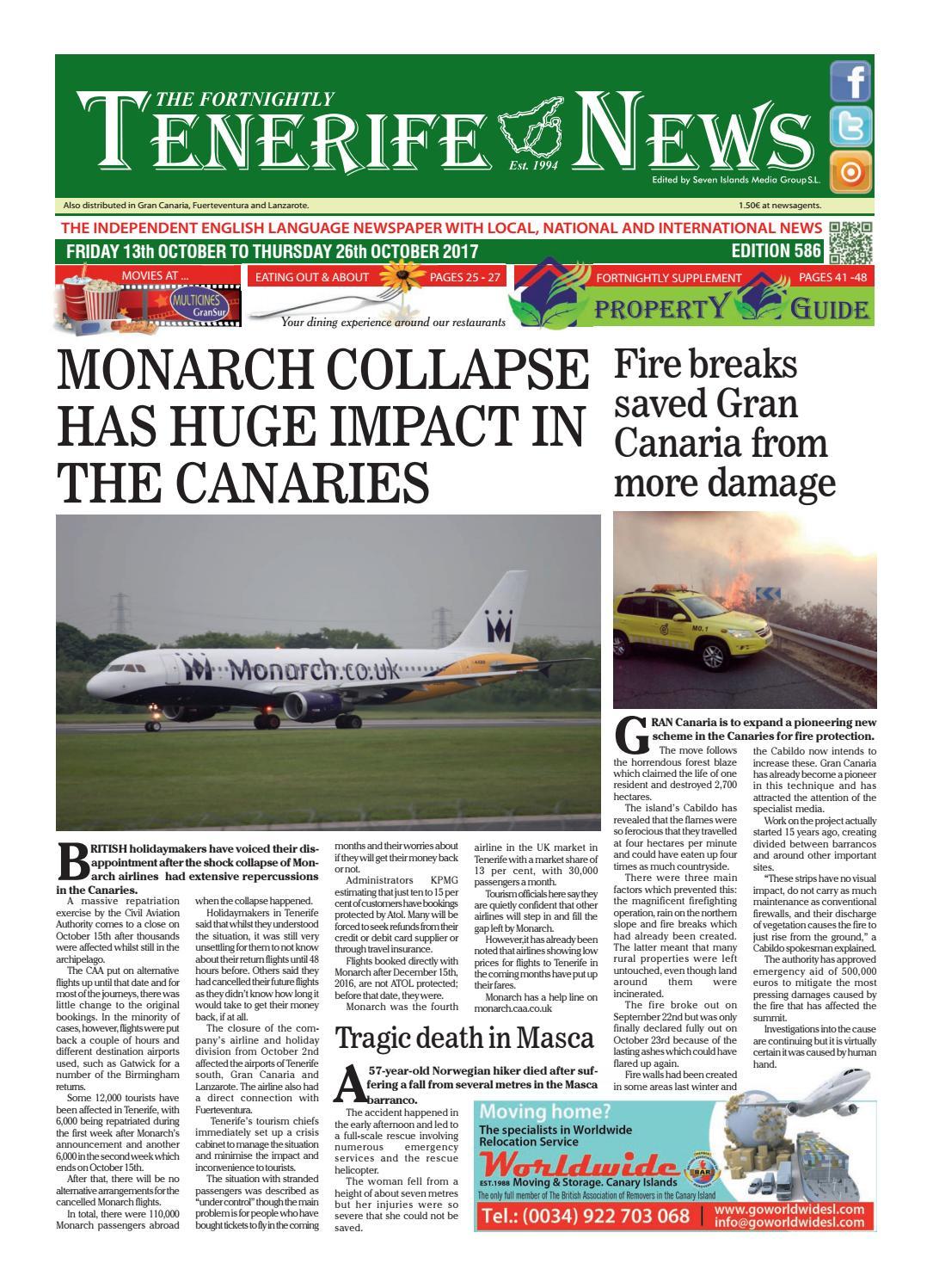 Edition 586 by Tenerife News - issuu