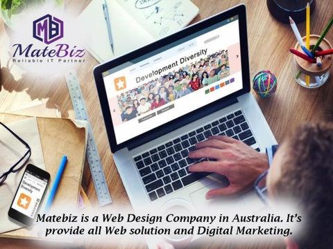 Choose Creative Website Design Company In Sydney Australia By Matebiz123 Issuu