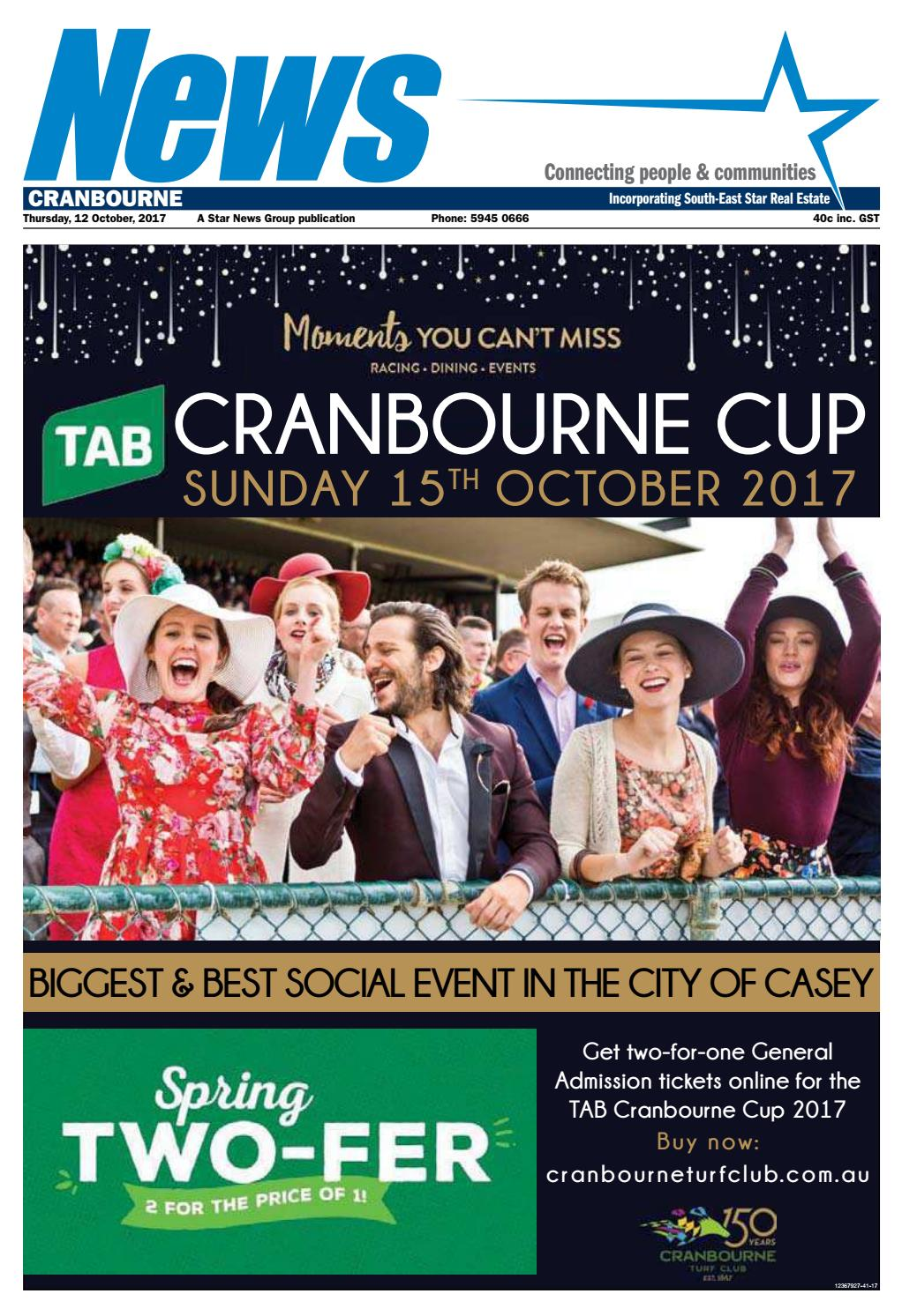 News Cranbourne 12th October 2017 By Star News Group Issuu