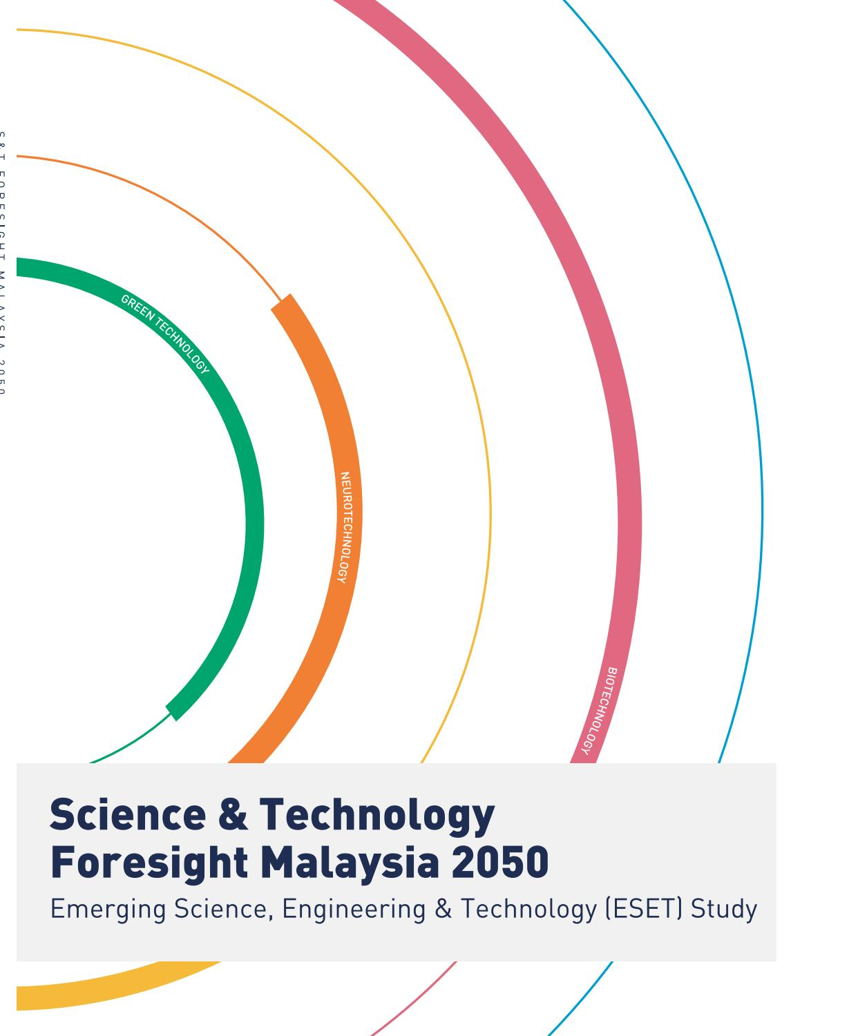 Science & Technology Foresight Malaysia 2050 by Academy of