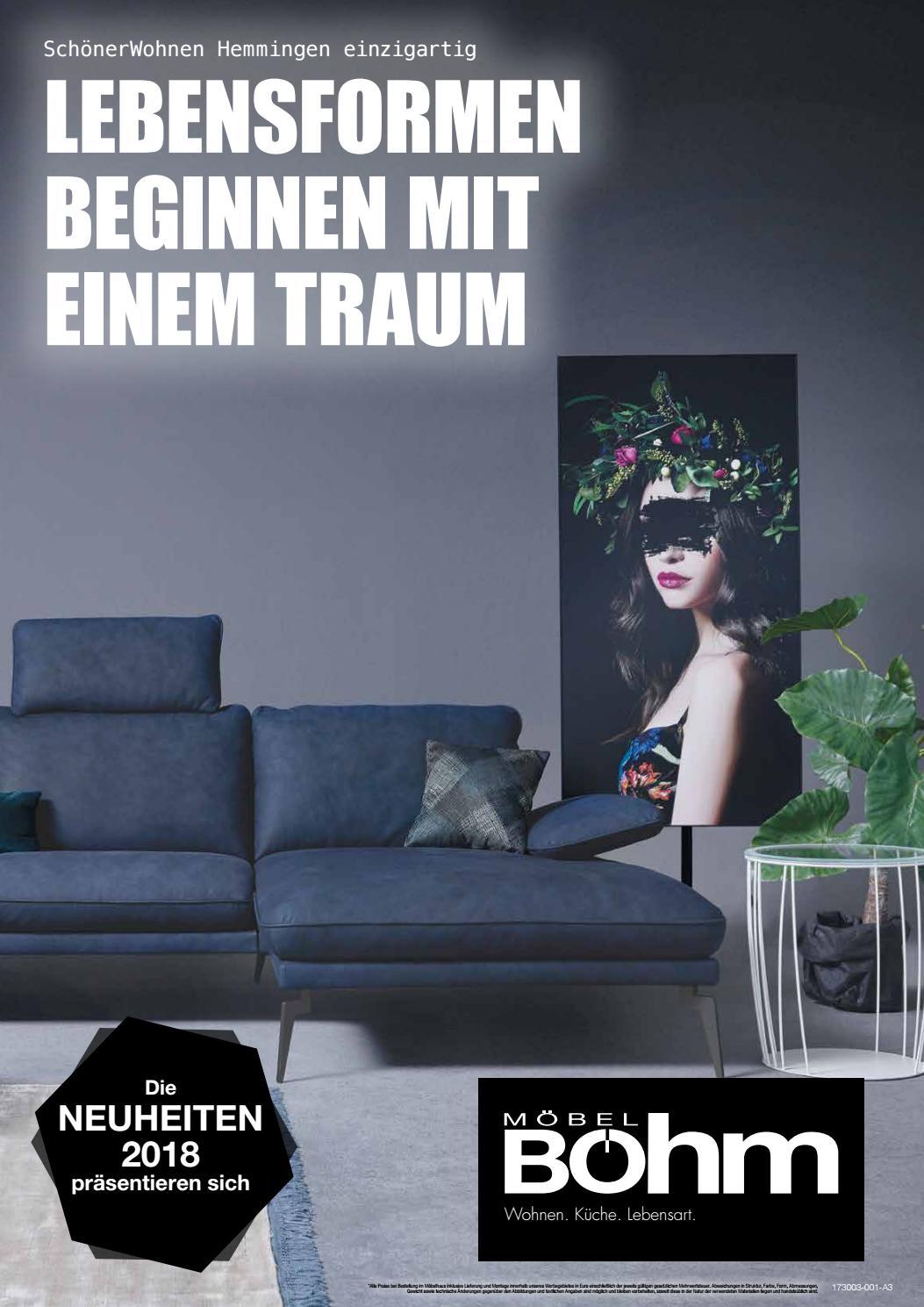 m bel b hm neuheiten 2018 by perspektive werbeagentur. Black Bedroom Furniture Sets. Home Design Ideas