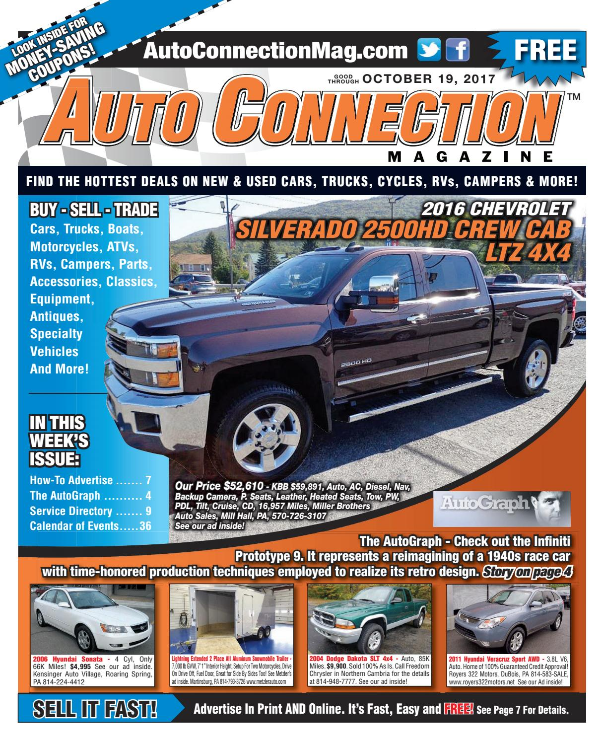 10 19 17 Auto Connection Magazine By Issuu 0 Dodge Dakota Custom Fit Vehicle Wiring Tow Ready