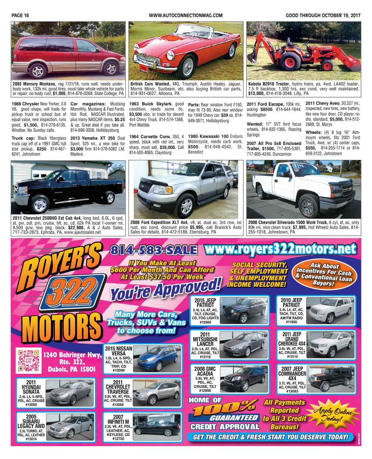 10-19-17 Auto Connection Magazine by Auto Connection Magazine - issuu