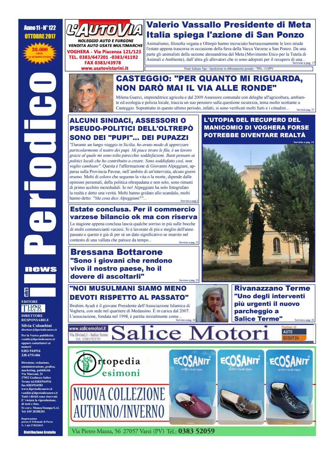 Il Periodico News - OTTOBRE 2017 N°122 by IlPeriodicoNews - issuu b0220642de5