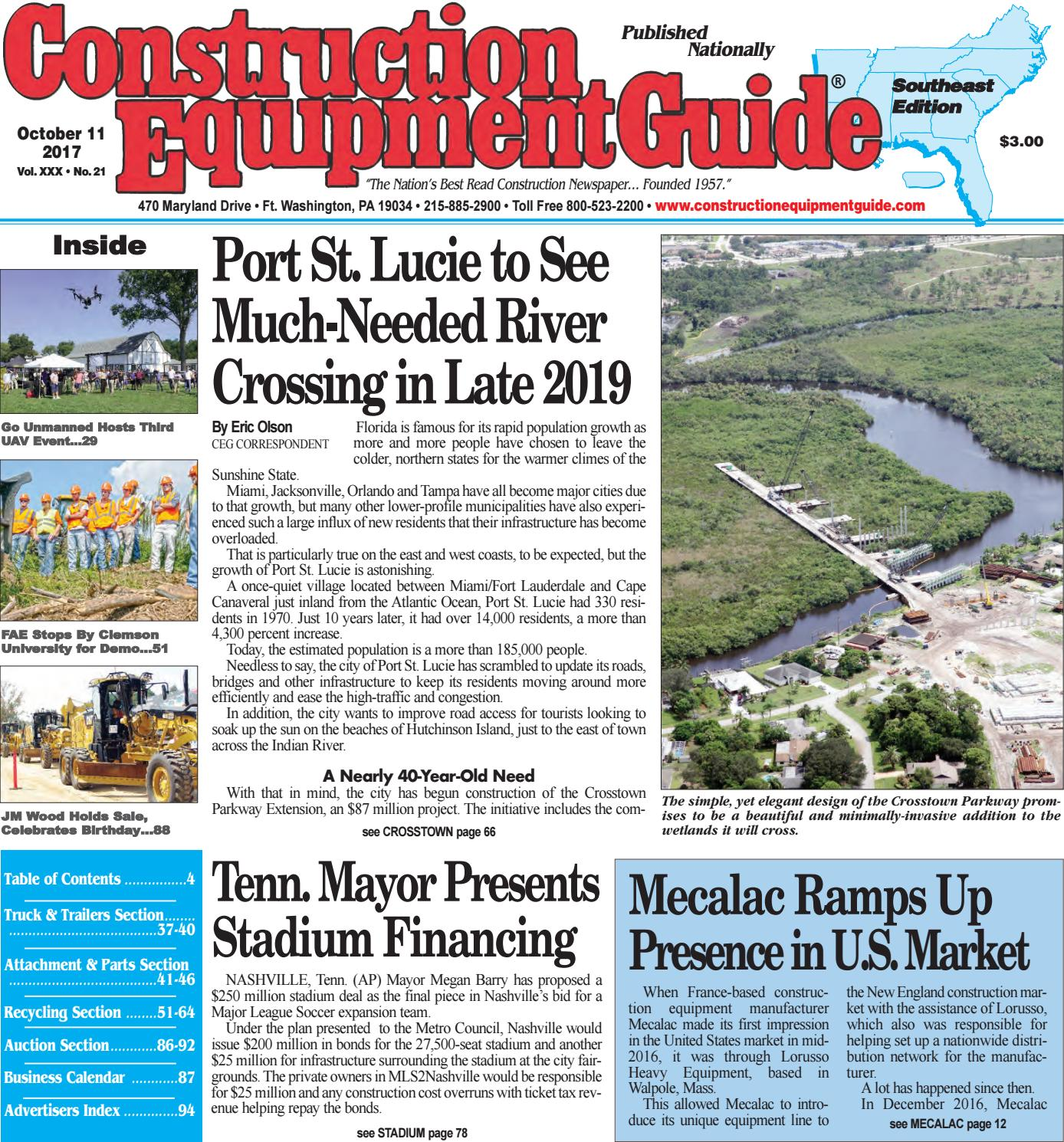 southeast 21 october 11 2017 by construction equipment guide issuu