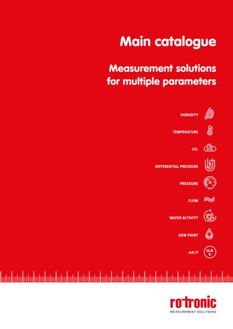 Measurement solutions for multiple parameters by ROTRONIC AG - issuu