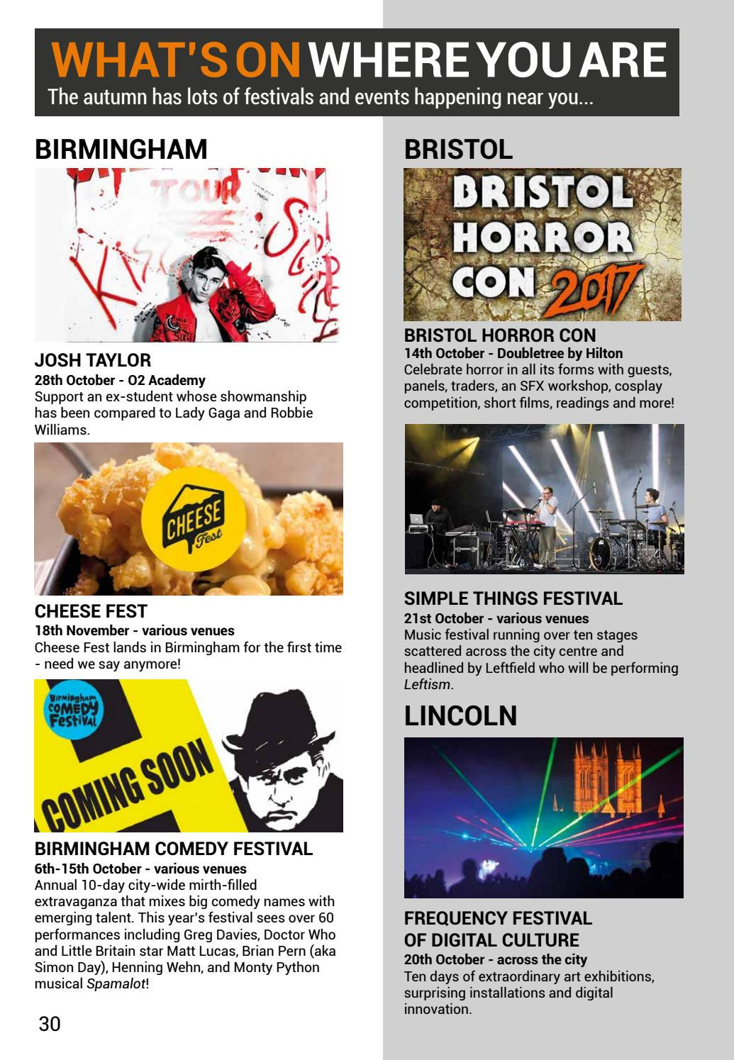 Access All Areas Autumn 2017 by Access Creative College - issuu