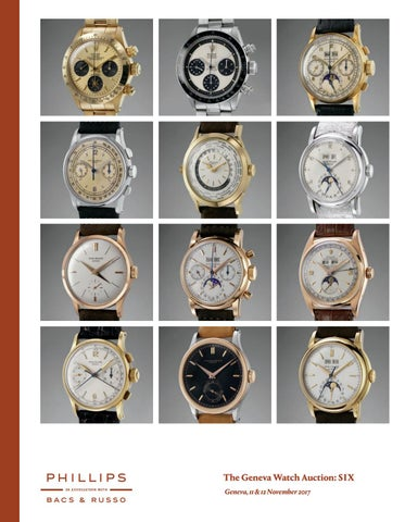 2bdfbcbd12f THE GENEVA WATCH AUCTION  SIX  Catalogue  by PHILLIPS - issuu