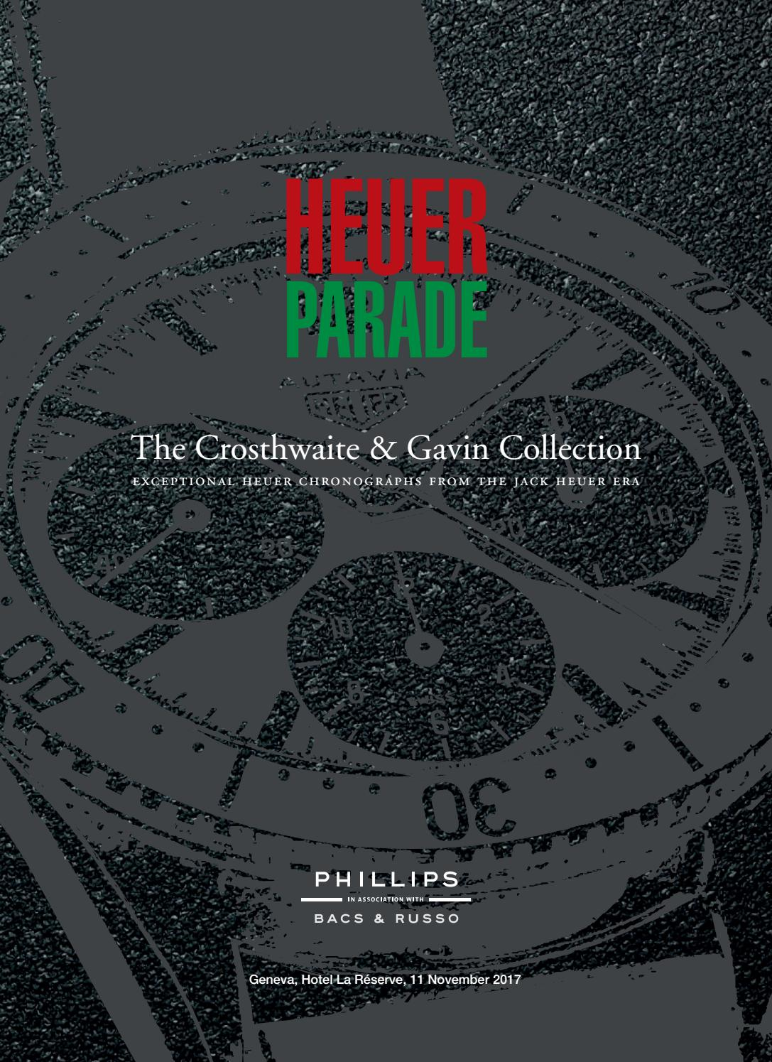 Heuer Parade Catalogue By Phillips Issuu Circuit Board Computer Brown Gold Copper Tie Clipsilvergift Boxusa