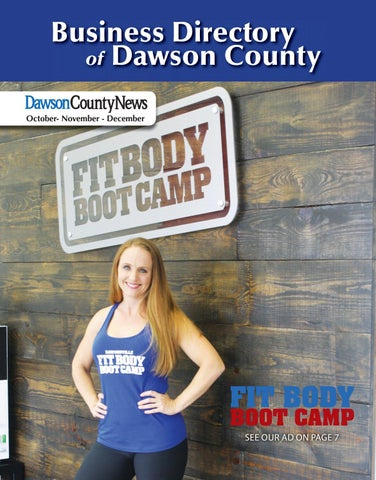 Business Directory Of Dawson County October November December